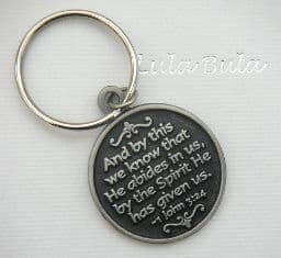 Holy spirit - dove keyring gift